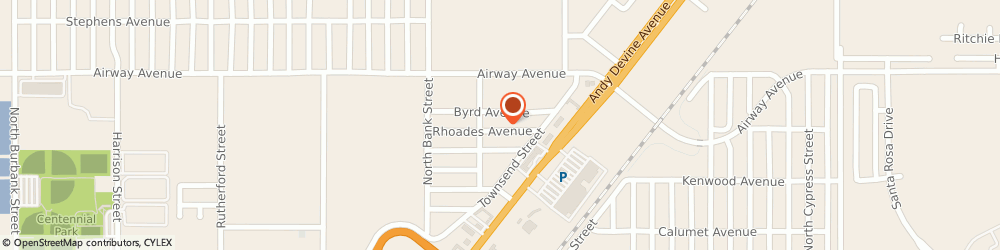 Route/map/directions to Ryder Truck Rental-One-Way Inc - Kingman, 86401 Kingman, 3424 NORTH EVANS STREET