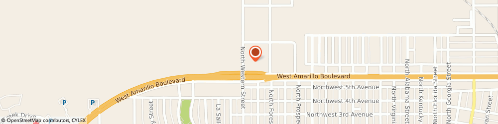 Route/map/directions to BARNEYS AUTO SERVICE, 79106 Amarillo, 810 N Western St