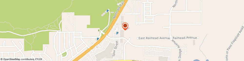 Route/map/directions to Bridgestone Tires Dealer, 86004 Flagstaff, 4920 North Hwy 89