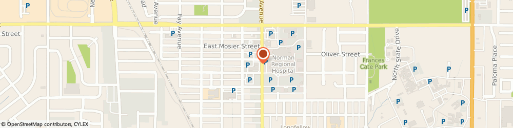 Route/map/directions to Thomas Merrill, MD, 73071 Norman, 950 N. Porter Avenue