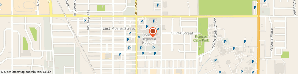 Route/map/directions to Norman Regional Hospital, 73071 Norman, 901 N. Porter Ave
