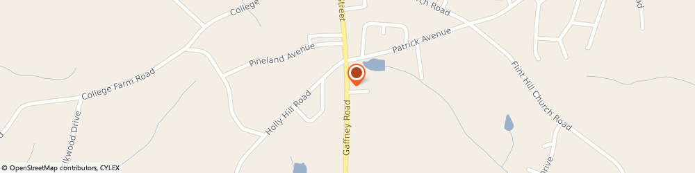 Route/map/directions to Humphries Automotive Inc, 28152 Shelby, 1809 Gaffney Rd