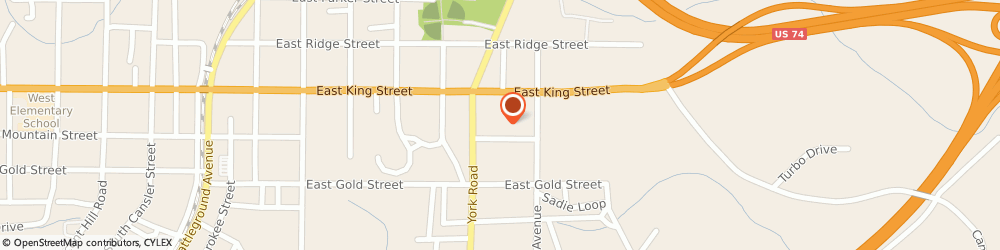 Route/map/directions to Food Lion, 28086 Kings Mountain, 610 E King St