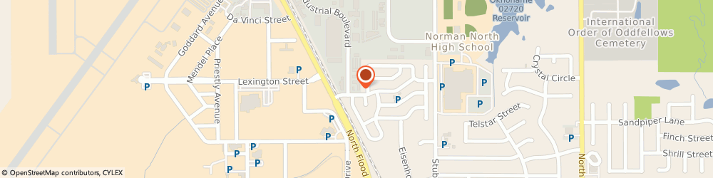 Route/map/directions to Sunset Technologies, 73069 Norman, 1811 INDUSTRIAL BOULEVARD