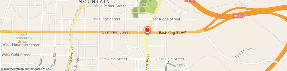 Route/map/directions to Advance Auto Parts, 28086 Kings Mountain, 512 East King Street