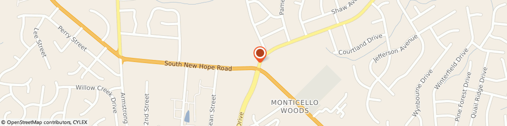 Route/map/directions to Circle K, 28054 Gastonia, 2434 S NEW HOPE RD