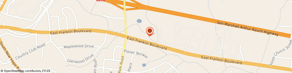 Route/map/directions to Palm Harbor Homes, 28056 Gastonia, 2656 EAST FRANKLIN BOULEVARD
