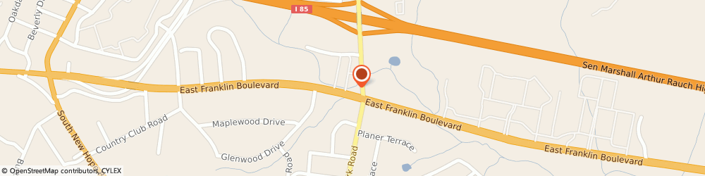 Route/map/directions to Wells Fargo Bank, 28054 Gastonia, 403 Cox Rd