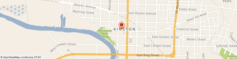 Route/map/directions to Bp Station, 28501 Kinston, 3001 N HERITAGE ST