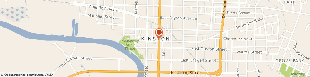 Route/map/directions to Community Action Partnership, 28501 Kinston, Po Box 874,
