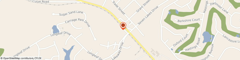 Route/map/directions to Curves For Women, 27376 West End, 145 WEST PLAZA DRIVE