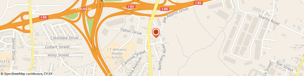 Route/map/directions to Advance Auto Parts, 28206 Charlotte, 3714 Statesville Avenue