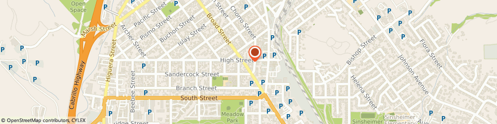 Route/map/directions to Safeco Insurance Agent, 93401-5203 San Luis Obispo, 2000 Broad St