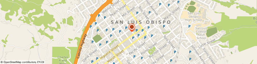 Route/map/directions to Chico's, 93401 San Luis Obispo, 1080 Court Street