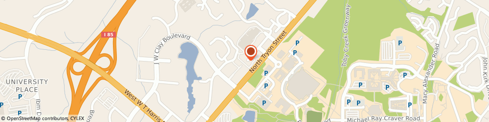 Route/map/directions to Randstad - Charlotte, 28262 Charlotte, 9211 North Tryon St,Suite 10 A