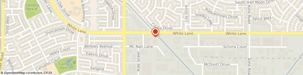 Route/map/directions to Baskin-Robbins, 93309 Bakersfield, 7695 White Ln