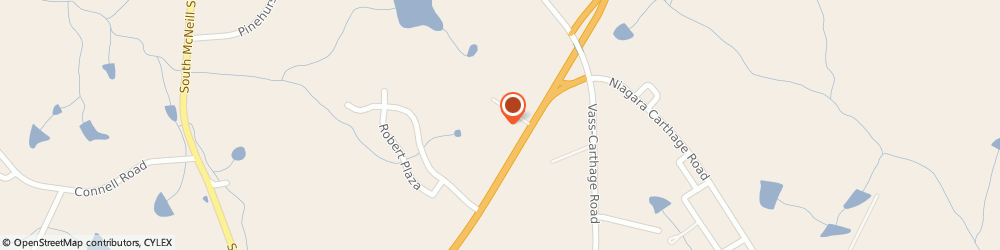 Route/map/directions to TIMS AUTO REPAIR, 28327 Carthage, 7301 Hwy 15501