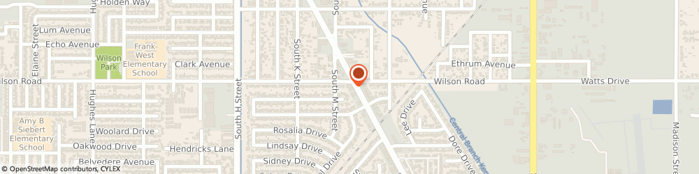 Route/map/directions to Tommys Liquor Store, 93304 Bakersfield, 2501 SOUTH CHESTER AVENUE