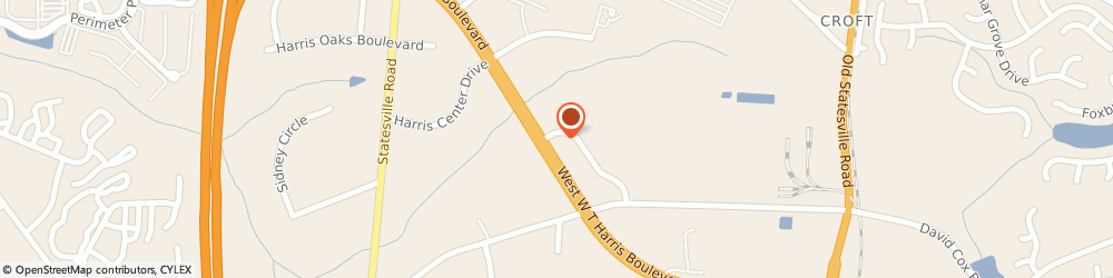 Route/map/directions to Waffle House, 28217 Charlotte, 8635 Hankins Rd, I-77 Exit 18