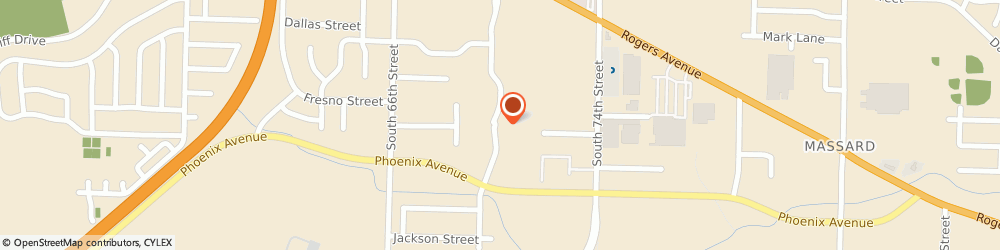 Route/map/directions to Brad S Thomas State Farm Insurance Agency, 72903 Fort Smith, 3301 S 70th Street