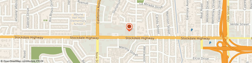 Route/map/directions to Alcohol Beverage Control, 93309 Bakersfield, 4800 STOCKDALE HWY # 213