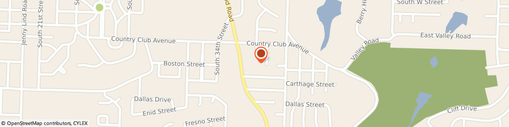 Route/map/directions to Dooly Chris Insurance, 72903 Fort Smith, 2917 Old Greenwood R
