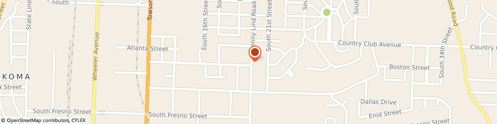 Route/map/directions to Wagoner James Insurance, 72901 Fort Smith, 2920 Jenny Lind Rd