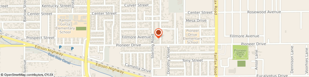 Route/map/directions to Mini Mart, 93306 Bakersfield, 717 Sterling Rd