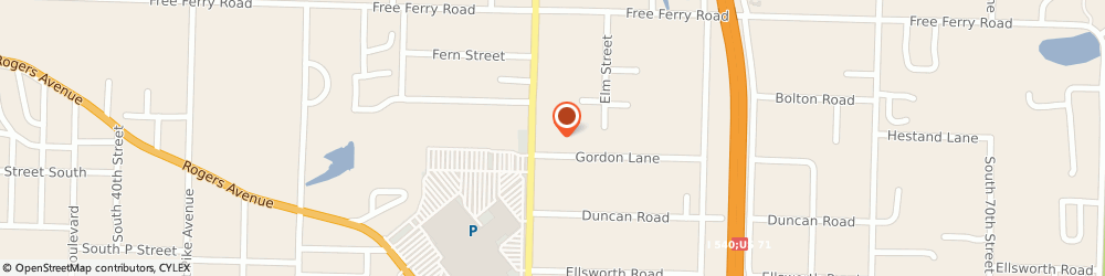 Route/map/directions to Direct Auto Insurance, 72903 Fort Smith, 1217 South Waldron Road