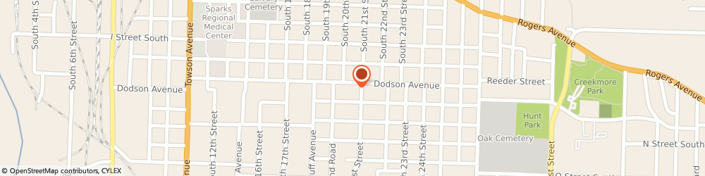 Route/map/directions to Shelter Insurance, 72901 Fort Smith, 2026 Dodson Ave