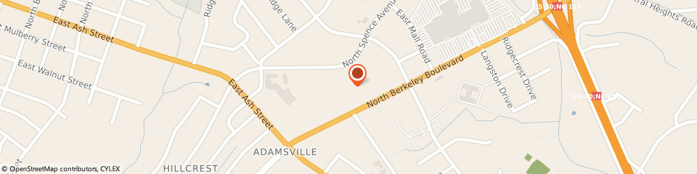Route/map/directions to Little Caesars Pizza, 27534 Goldsboro, 307A Berkeley Blvd