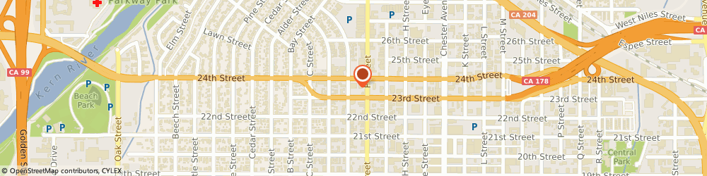 Route/map/directions to G m Liquor & Fine Cigars, 93301 Bakersfield, 1921 24TH STREET SUITE B