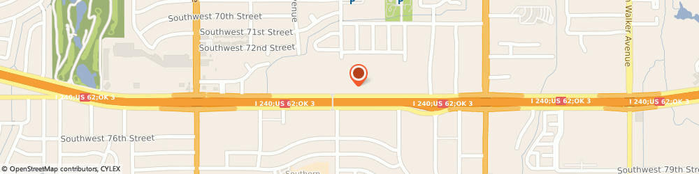 Route/map/directions to Prosperity Bank, 73139 Oklahoma City, 1245 Southwest 74th Street