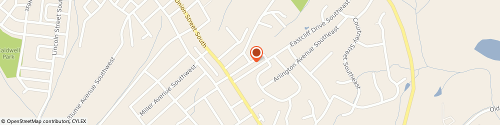 Route/map/directions to Best Impressions Services, 28025 Concord, 282 Eastcliff Dr SE