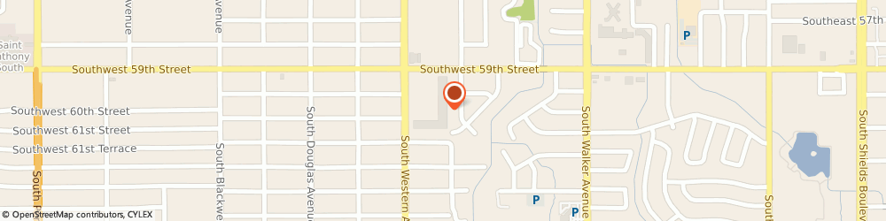 Route/map/directions to Gentle Dental Southwest, 73139 Oklahoma City, 6002 SOUTH WESTERN