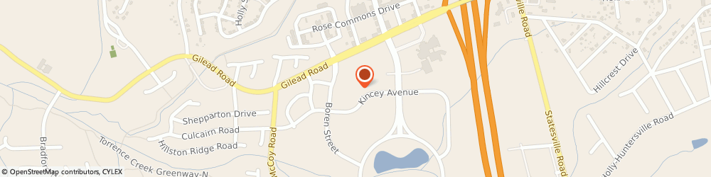 Route/map/directions to NorthStar Dentistry For Adults, 28078 Huntersville, 9735 Kincey Ave #206