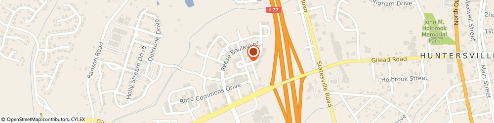 Route/map/directions to Safeco Insurance Agent, 28078-3420 Huntersville, 10105 Hickorywood Hill Ave Ste A
