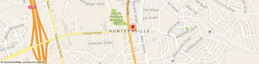 Route/map/directions to Waffle House, 28078 Huntersville, 14106 Statesville Rd, I-77, Exit 23