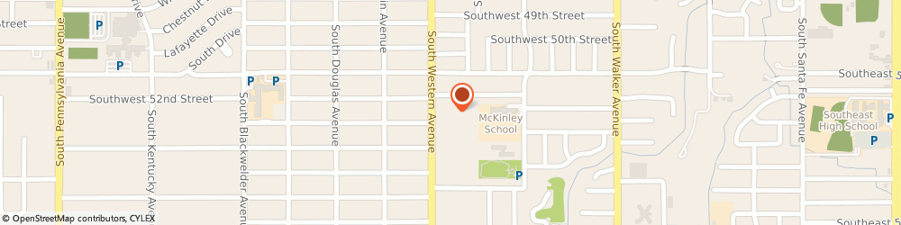 Route/map/directions to Discount Dumpster Rental, 73109 Oklahoma City, 5350 S Western Ave