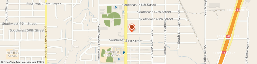Route/map/directions to Labor Finders - South, 73129 Oklahoma City, 5020 SOUTH SHIELDS BOULEVARD