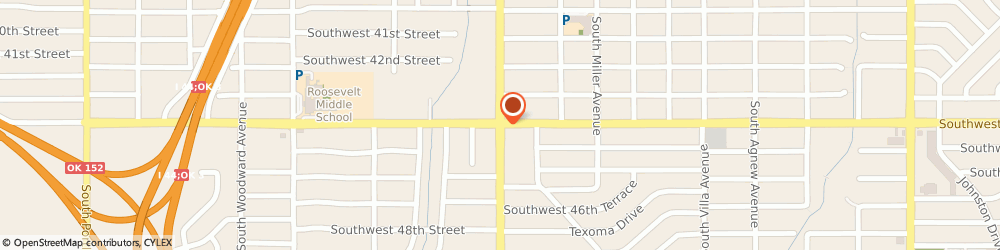 Route/map/directions to Aa Alcoholics Anonymous Club, 73119 Oklahoma City, 4505 S MAY AVE