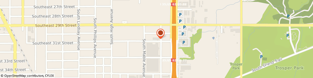 Route/map/directions to Valve Products Incorporated, 73129 Oklahoma City, 1313 SOUTHEAST 31ST STREET