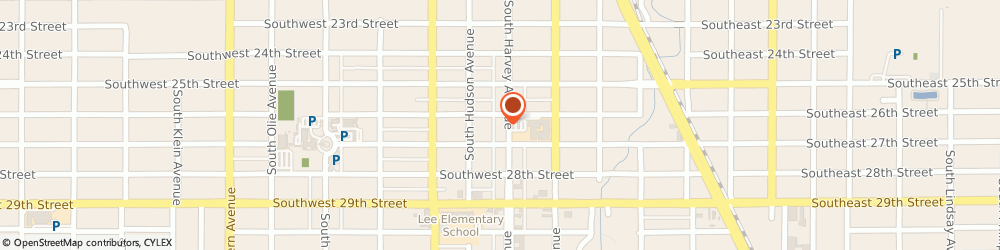 Route/map/directions to Bank of America, 73109 Oklahoma City, 2701 S HARVEY AVE
