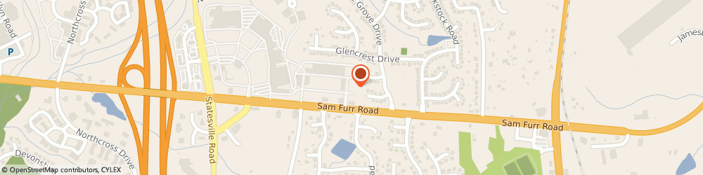 Route/map/directions to Safeco Insurance Agent, 28078-5052 Huntersville, 9931 Knockando Ln