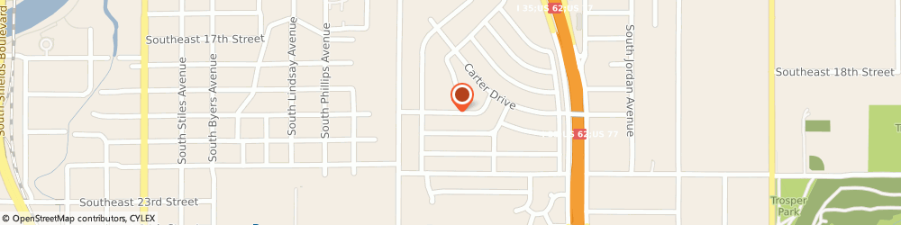 Route/map/directions to Red River DOT Consulting & Training, LLC., 73129 Oklahoma City, 1133 Southeast 19th Street
