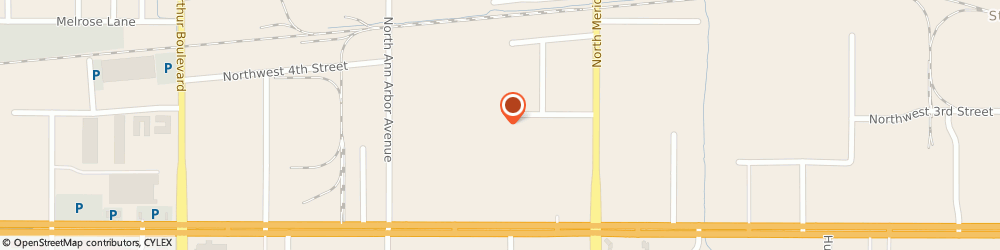 Route/map/directions to SHEARER SUPPLY, Inc., 73127 Oklahoma City, 4732 Nw 1St Street;