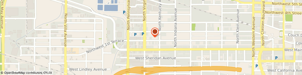 Route/map/directions to blue frog Plumbing + Drain, 73106 Oklahoma City, 1725 NW 1St Street