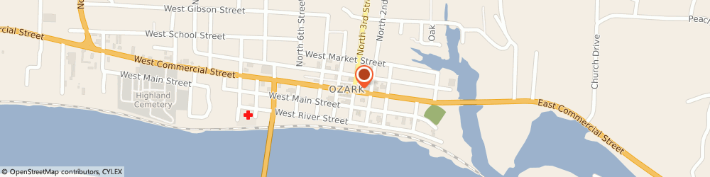 Route/map/directions to Maytag Retailer, 72949 Ozark, 112 North 3Rd Street