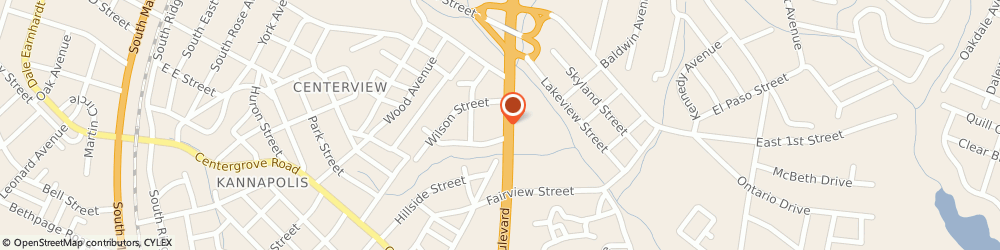 Route/map/directions to Ray's Carpets & Flooring, 28083 Kannapolis, 406 S Cannon Blvd