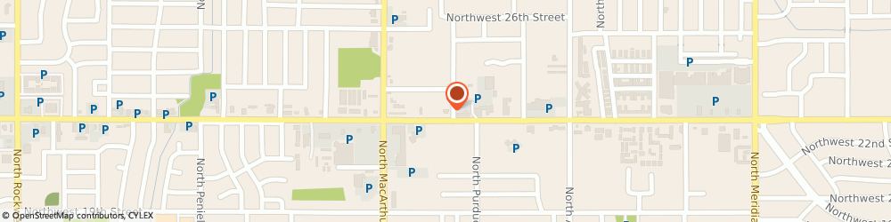 Route/map/directions to Anderson Lori DDS PC, 73127 Oklahoma City, 5701 NW 23rd St